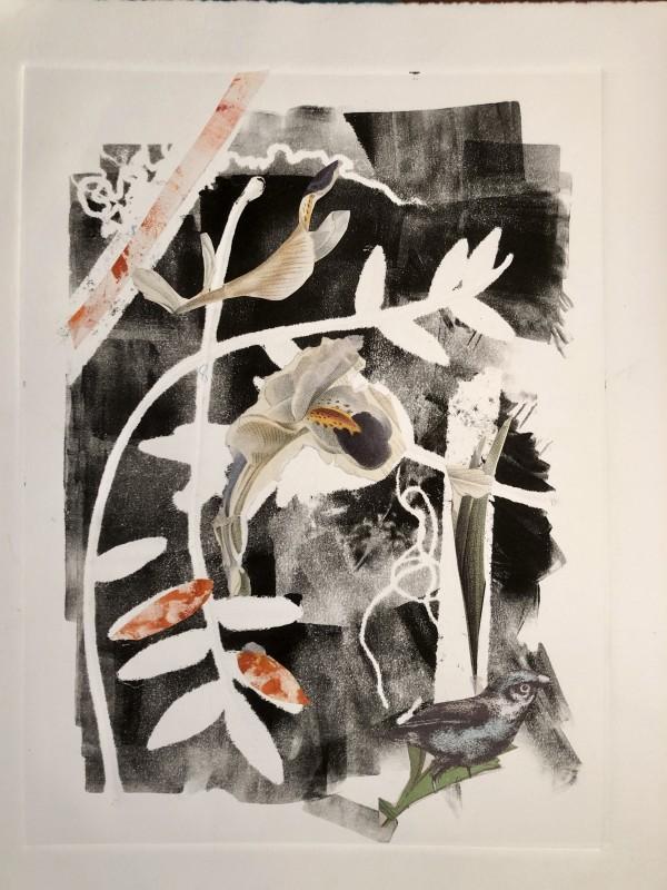 Orange Leaves by Susan Grucci