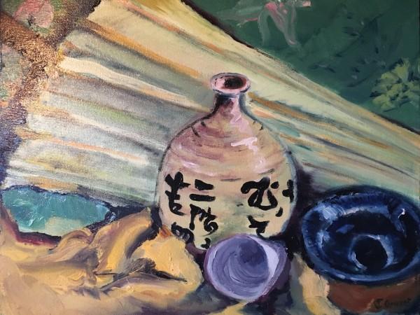 Japanese Umbrella by Susan Grucci