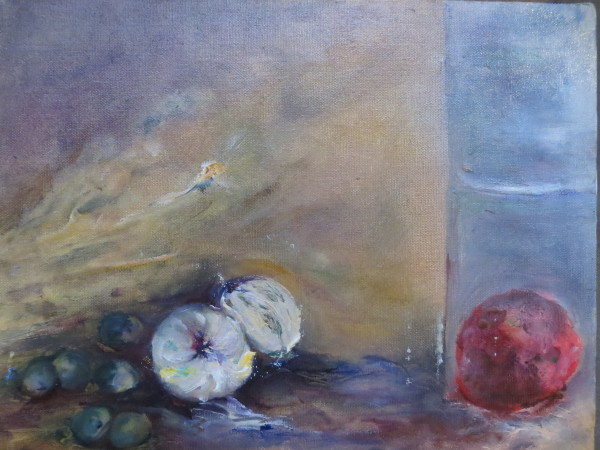 Apple and Onions by Susan Grucci