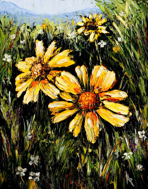 Field of Happiness by Angela Pittenger