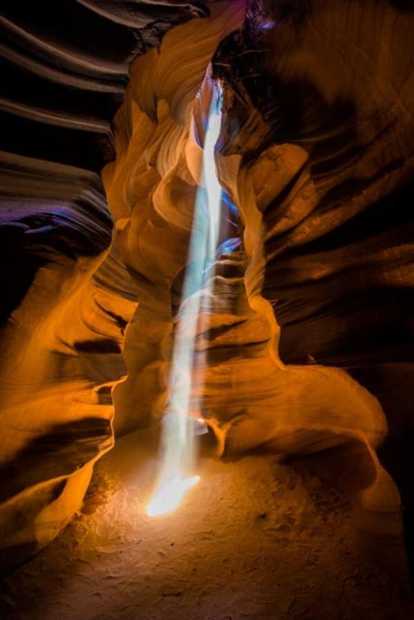 Antelope Canyon, AZ by Ed Warner
