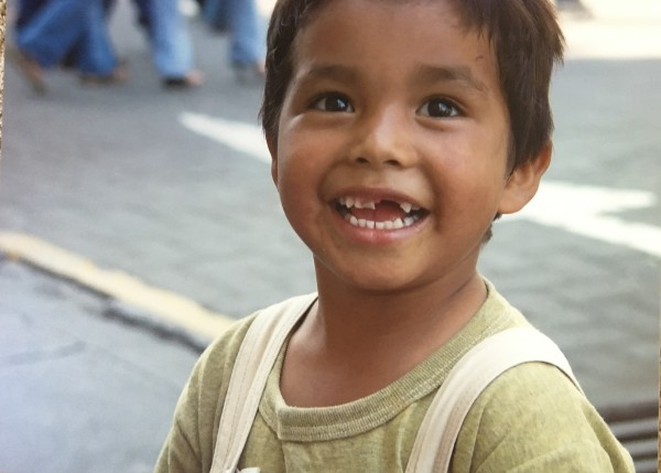 Boy in Central Park, Guadalajara, Mexico    by Bart Marcy