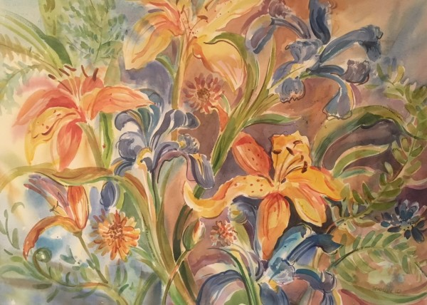 Daylilies by Sarah G Schmerl