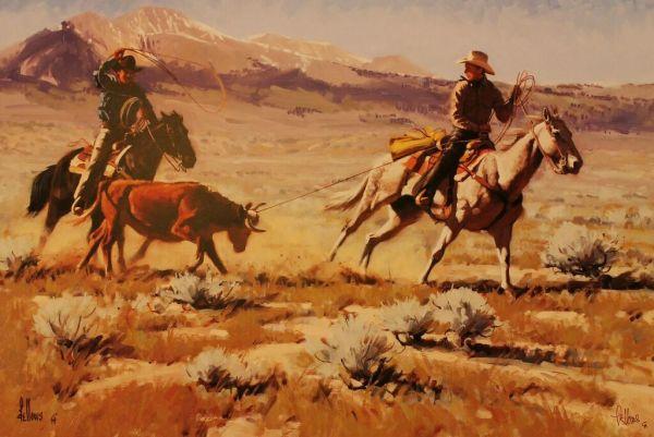Rancheros by Fred Fellows