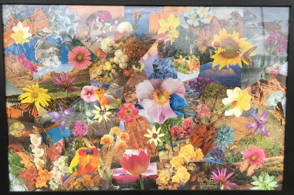 Flower Garden by Gustave Hulkower
