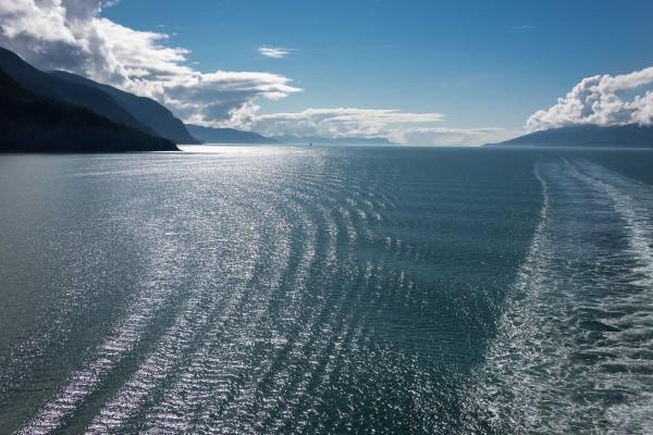 Alaska, Inside Passage by Larry Hanelin