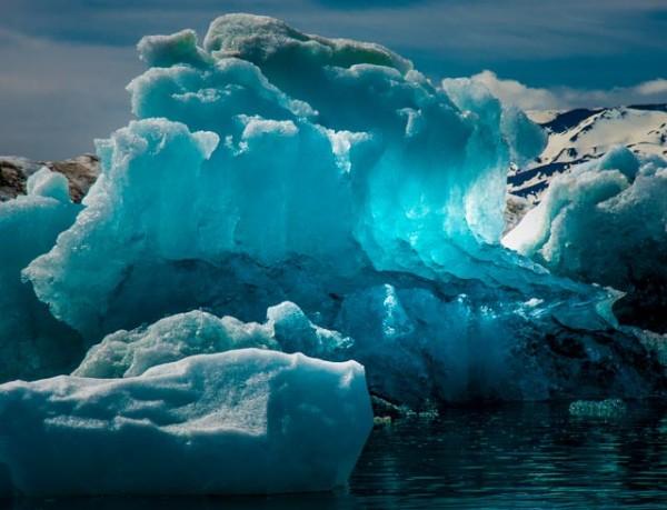Jökulsárlón Glacier Lagoon, Iceland    by Ed Warner