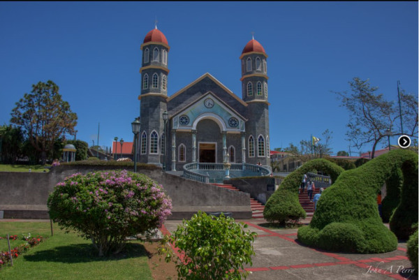 Iglesia de San Rafael Church, Costa Rica by John Perry