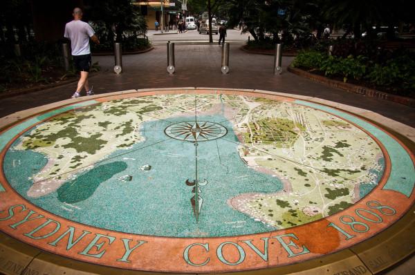 Circular Quay, Sidney by Ed Warner