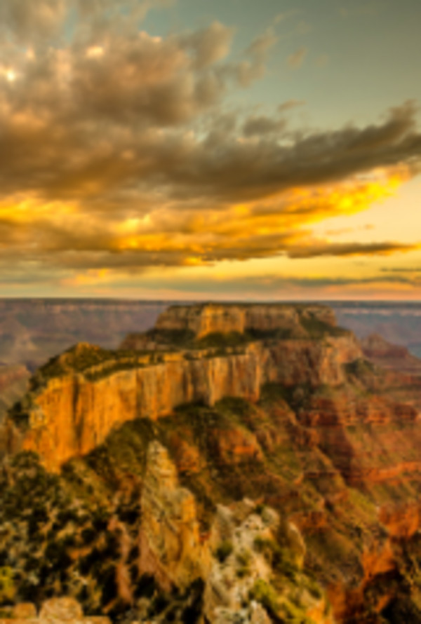Sunrise in the Canyon by Larry Simkins