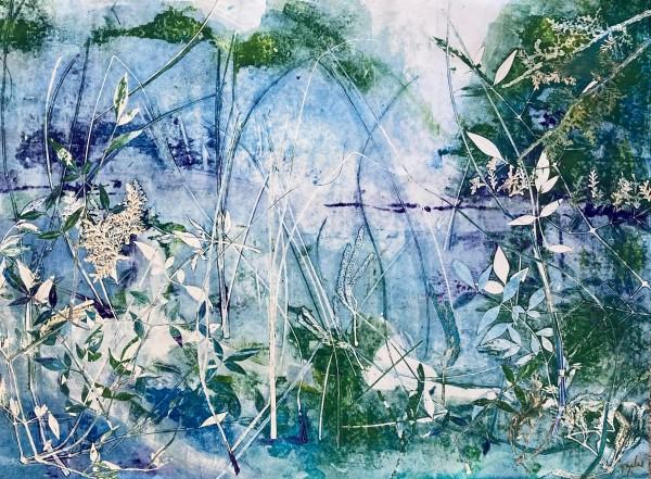 Blue Lagoon by Sylvia Garland