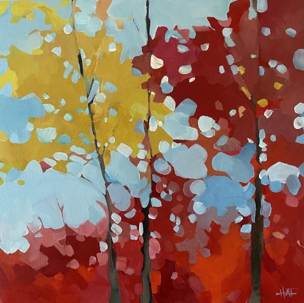 Colourful Canopy by Holly Ann Friesen