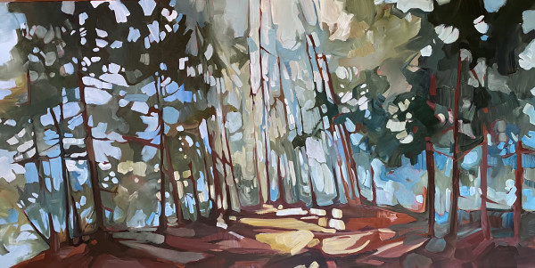 Deep Forest 2 by Holly Ann Friesen