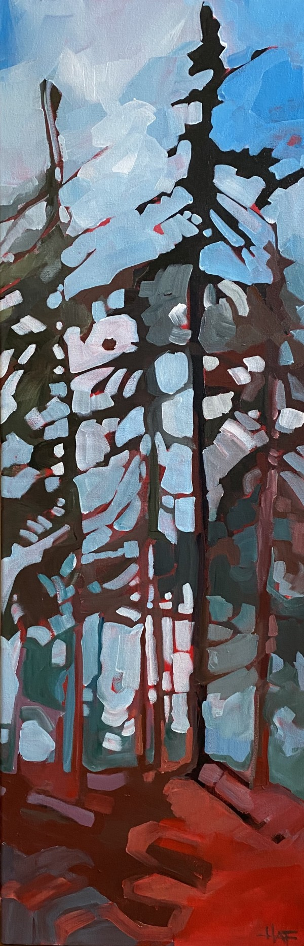 Forest Blues by Holly Ann Friesen