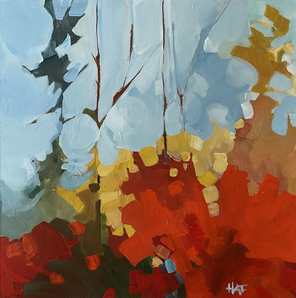Forest Layers by Holly Ann Friesen