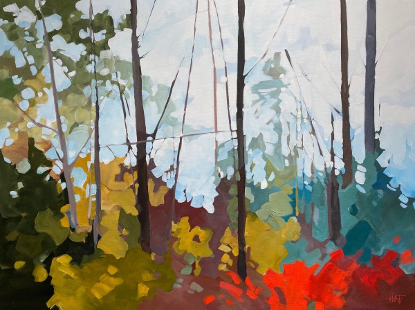 Forest Light 2 by Holly Ann Friesen