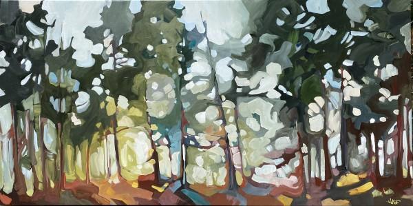 Forest Spot 5 by Holly Ann Friesen