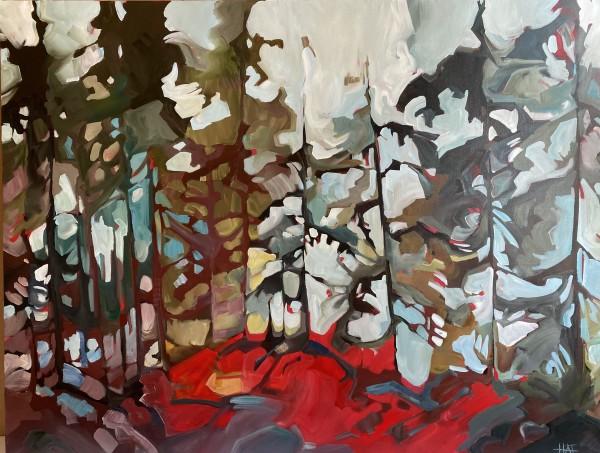 Forest Spot 8 by Holly Ann Friesen