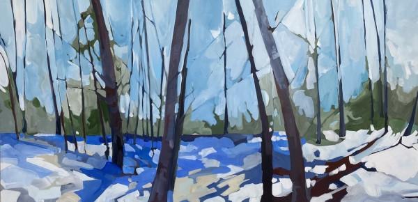 Happy Winter Blues by Holly Ann Friesen