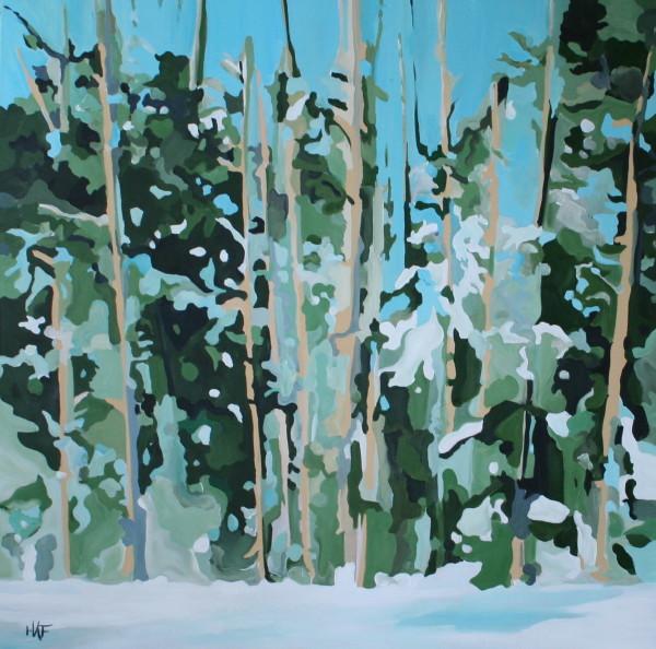Winter Birches by Holly Ann Friesen