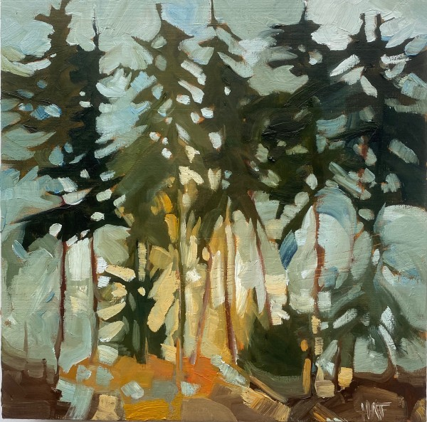 untitled (forest) by Holly Ann Friesen