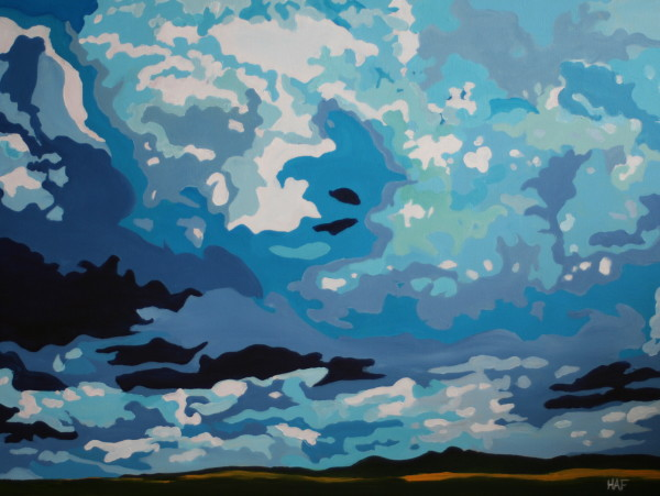 Cloud Forms III by Holly Ann Friesen