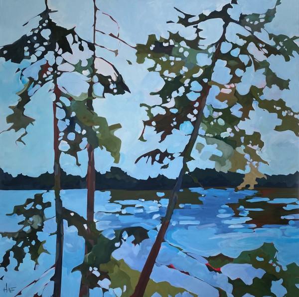 Roadside Trees by Holly Ann Friesen