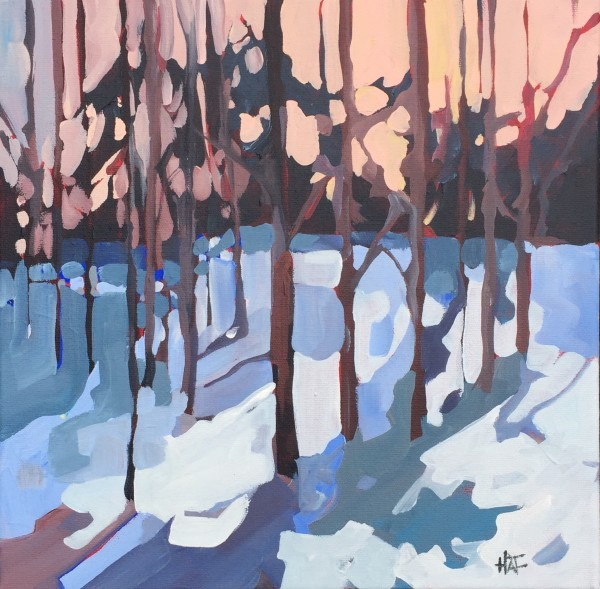 Winter Shadows 4 by Holly Ann Friesen