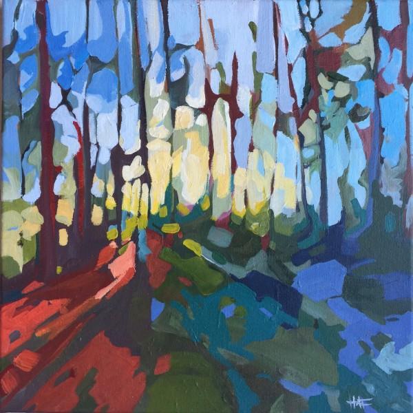 Forest Floor Splash by Holly Ann Friesen