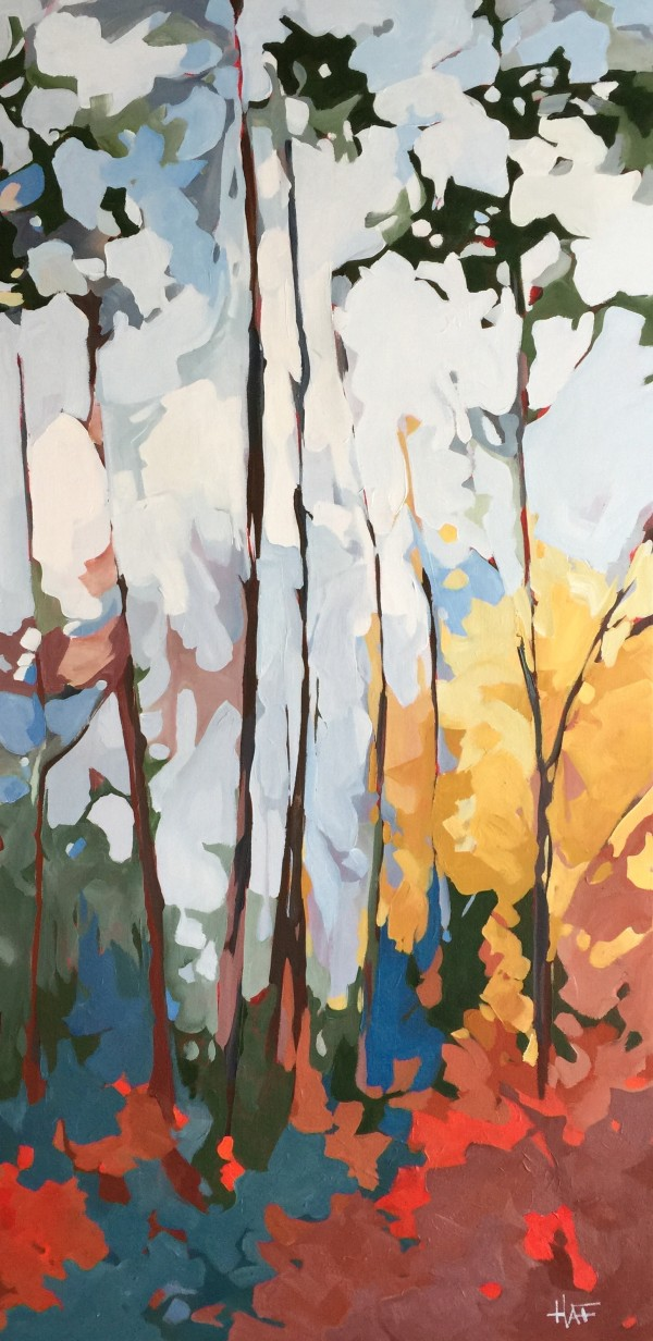Soft Forest Light 2 by Holly Ann Friesen