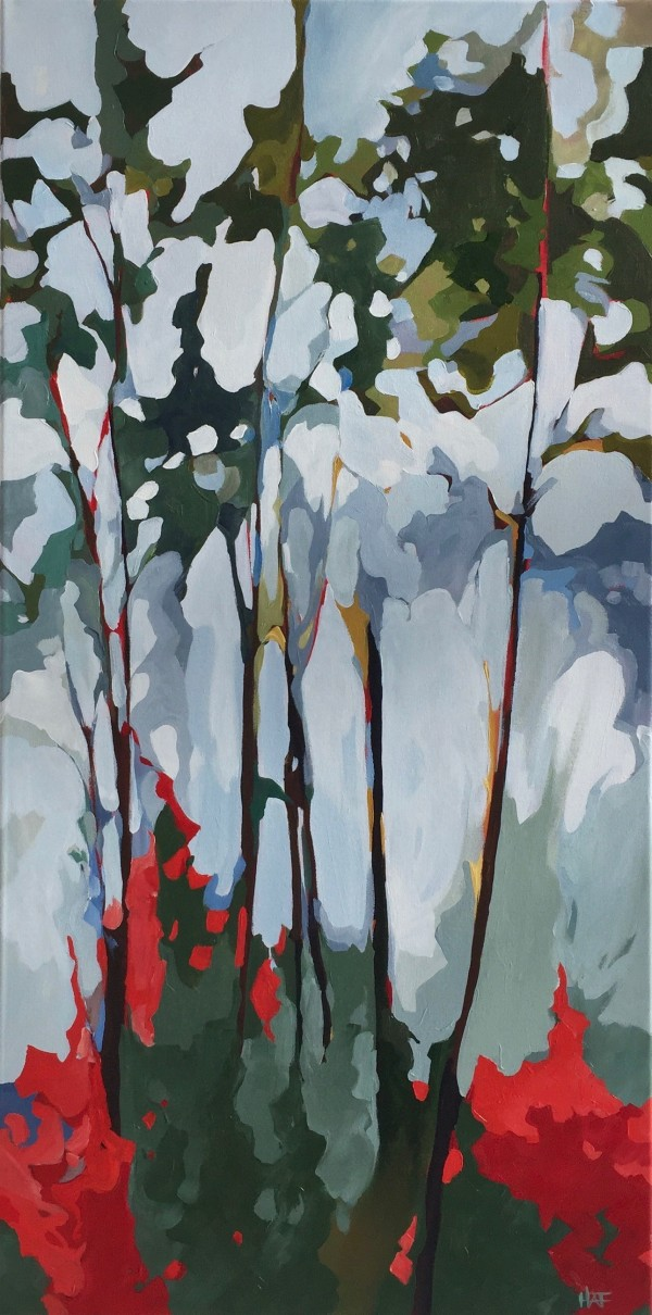 Foliage Flames by Holly Ann Friesen