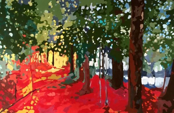 Sunny Path by Holly Ann Friesen