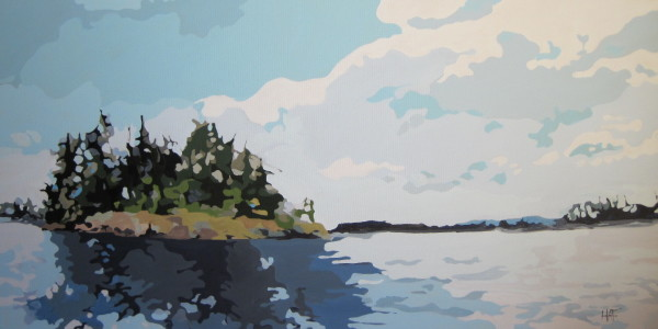 Island Pass II by Holly Ann Friesen