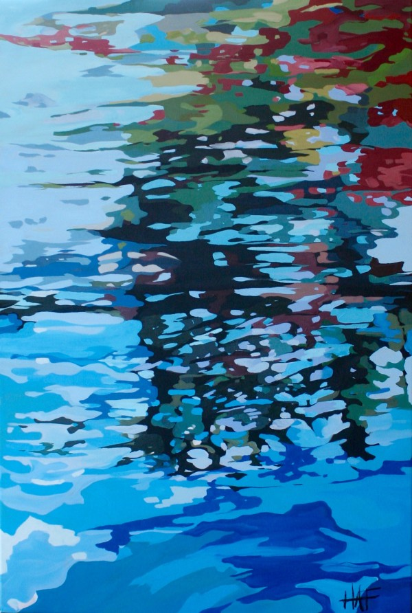Reflections 2 Series 2 by Holly Ann Friesen
