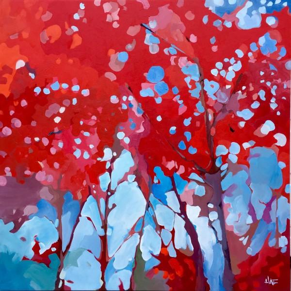 Red Skylight by Holly Ann Friesen