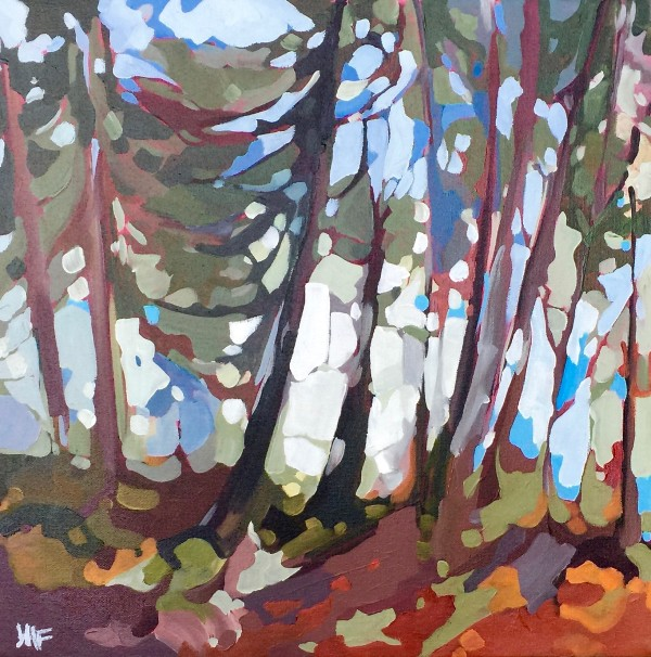Shadows in the Woods by Holly Ann Friesen