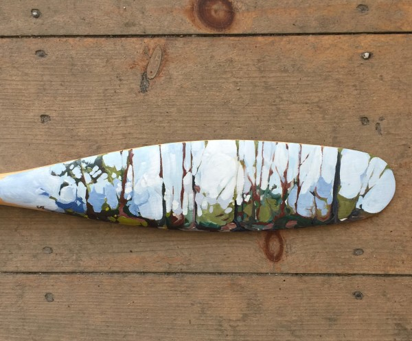 Sleeping Forest (small) by Holly Ann Friesen