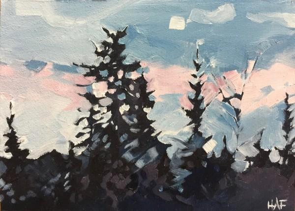Northshore Sunrise by Holly Ann Friesen
