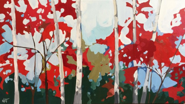 Red + Birch by Holly Ann Friesen