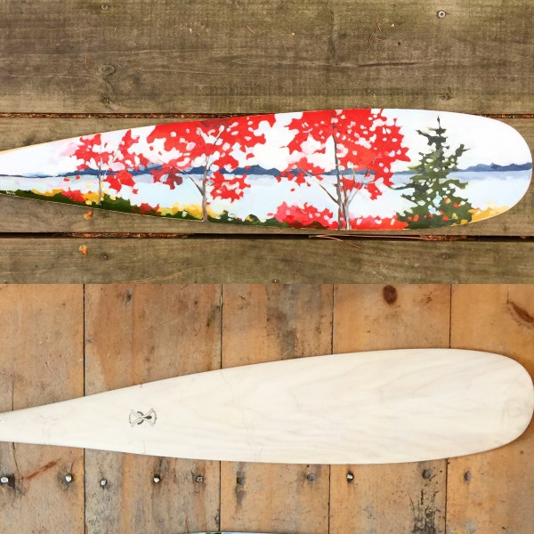 Fall Filter (large paddle) by Holly Ann Friesen