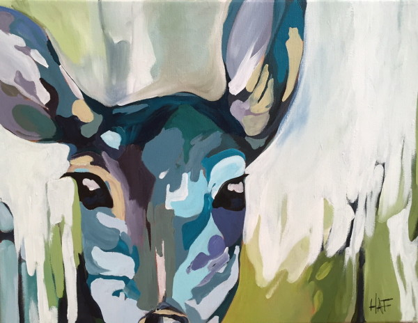 Oh Deer 3 by Holly Ann Friesen