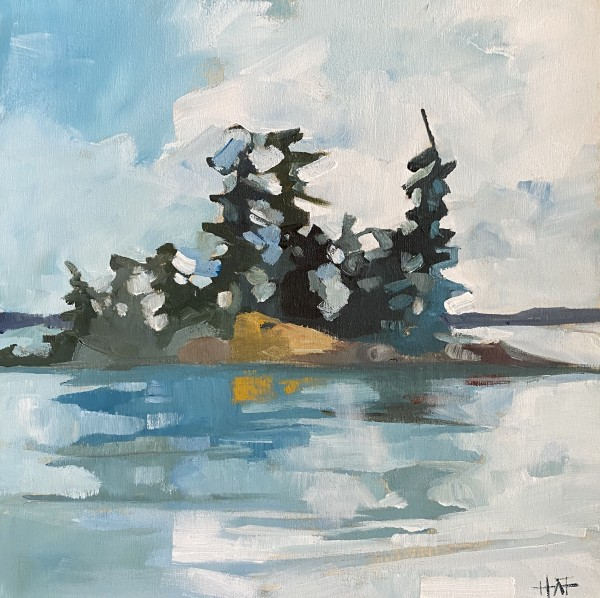 Island Peace by Holly Ann Friesen