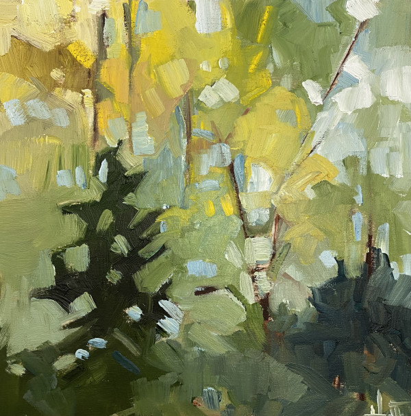 Leafy Contrasts by Holly Ann Friesen