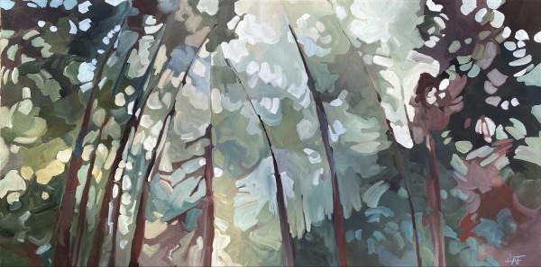 Purple Path by Holly Ann Friesen