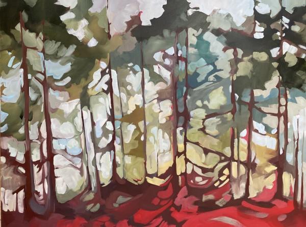Red Floor by Holly Ann Friesen