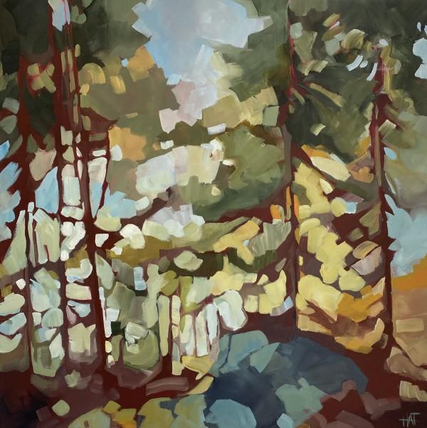 Teal Divide by Holly Ann Friesen