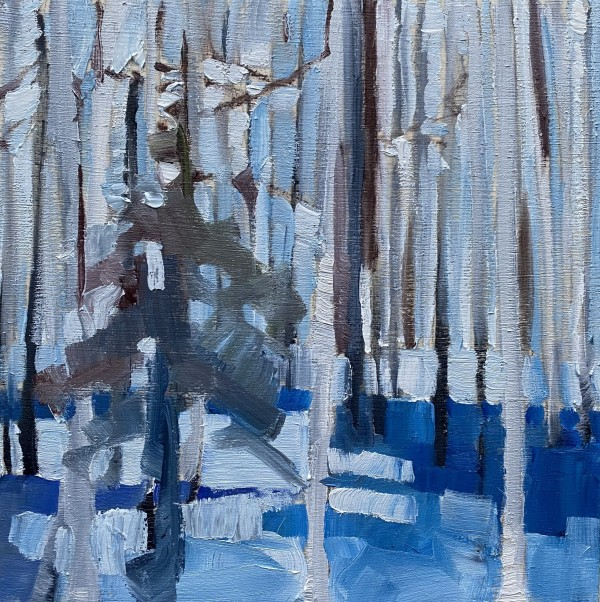 Tiny Winter Blues 2 by Holly Ann Friesen