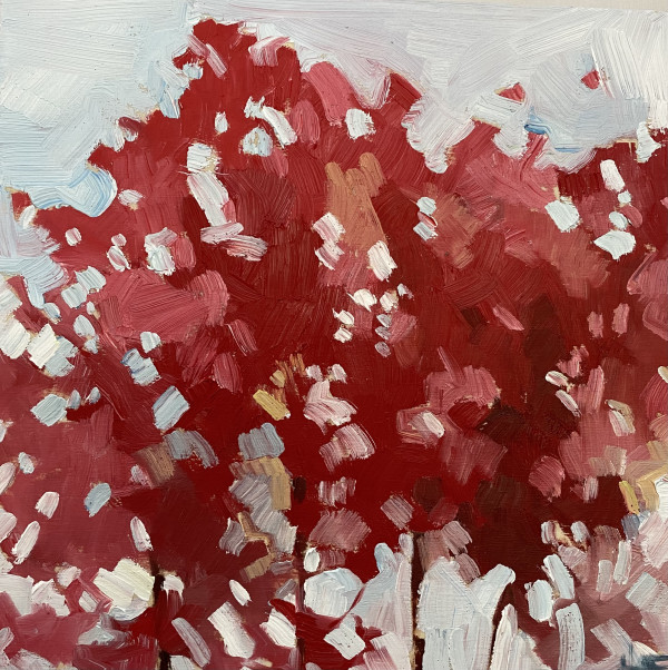 Upright Reds by Holly Ann Friesen