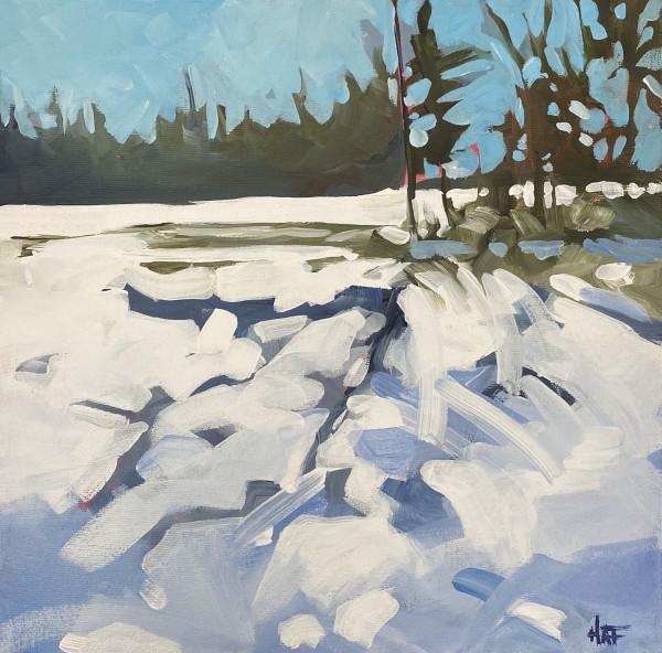 Winter Pasture by Holly Ann Friesen