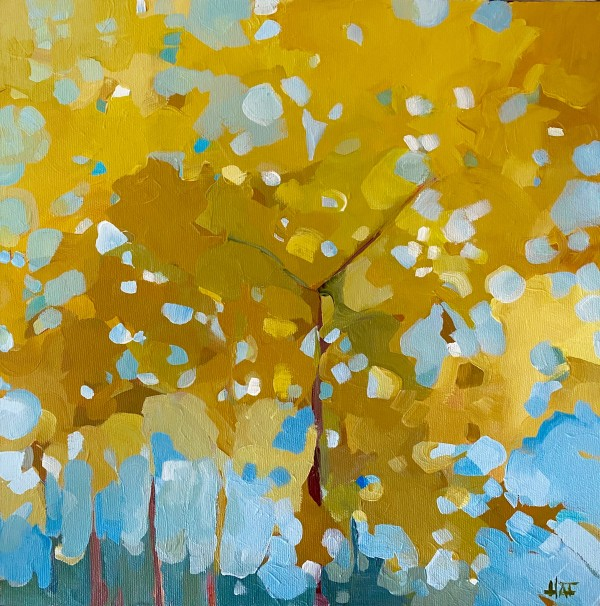 Yellow Canopy by Holly Ann Friesen
